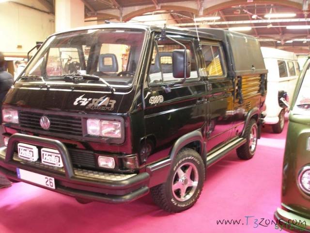"""VW T3 TriStar Syncro """"Noir"""" de 1990 moteur TDI-M  13_P2178249_1"""