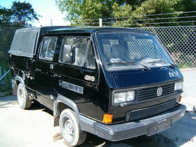 """VW T3 TriStar Syncro """"Noir"""" de 1990 moteur TDI-M  13_at1_1"""